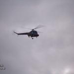 Упавший вертолёт