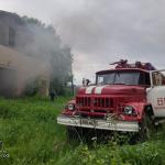 Пожар в колхозе