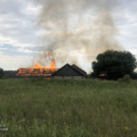 Пожар в Рушиново