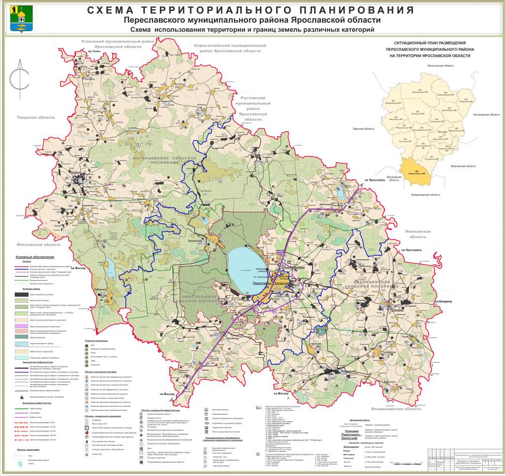 2 Схема использования территори