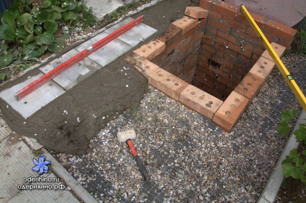Как сделать крышку на выгребную яму 250