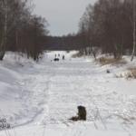 Зимняя рыбалка на Нерли