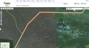 Пробка10112013-Яндекс.Карты